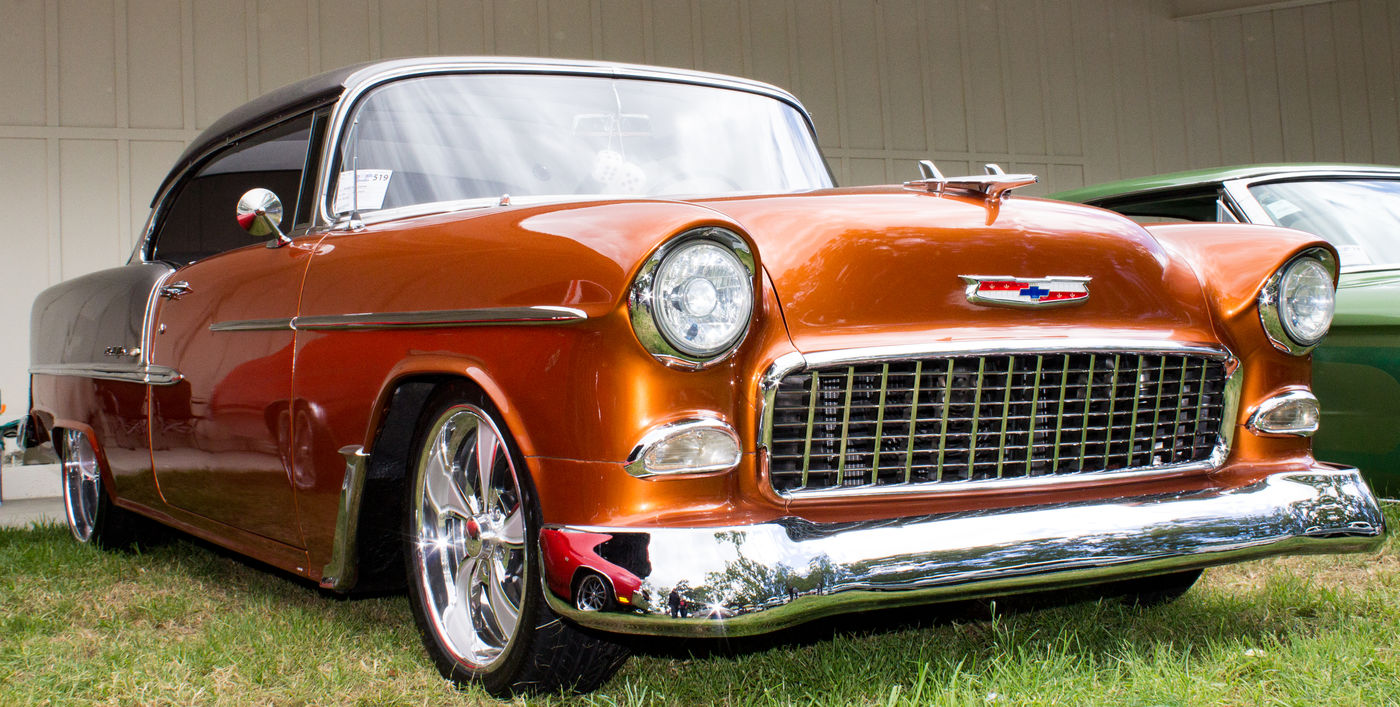EyeEm Selects Car Outdoors Day Classic Car Lowrider Chevy Bel Air Show Chrome EyEm New Here