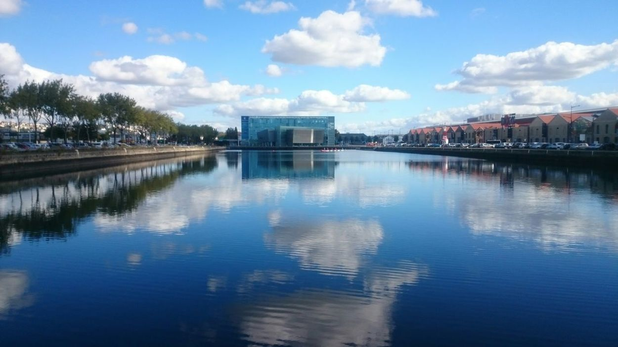 Le Havre Nofilter Cloud Water Reflections Reflection Sky Ciel Nuages Ciel Et Nuages
