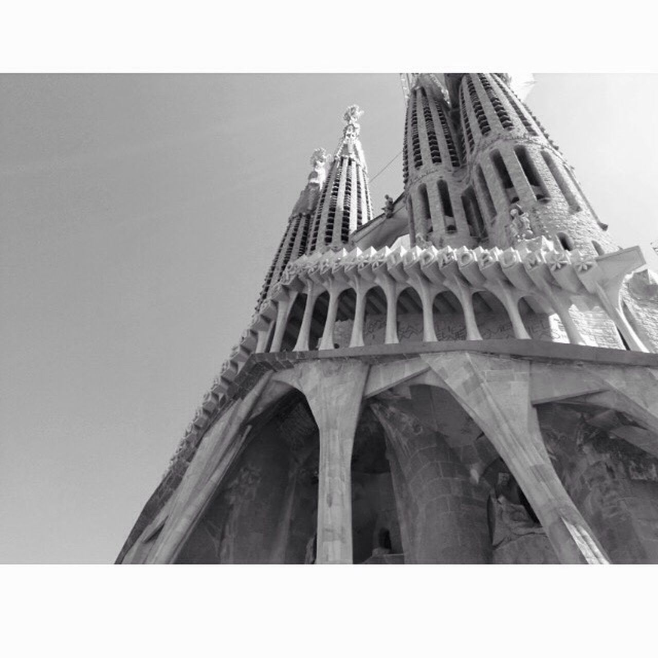 Barcelona Holidays Sun Sky Beautiful City España Blackandwhite Taking Photos Hello World Enjoying Life Landscape Eyemphotography Photography Memories Followme Gaudi Sagrada Familia