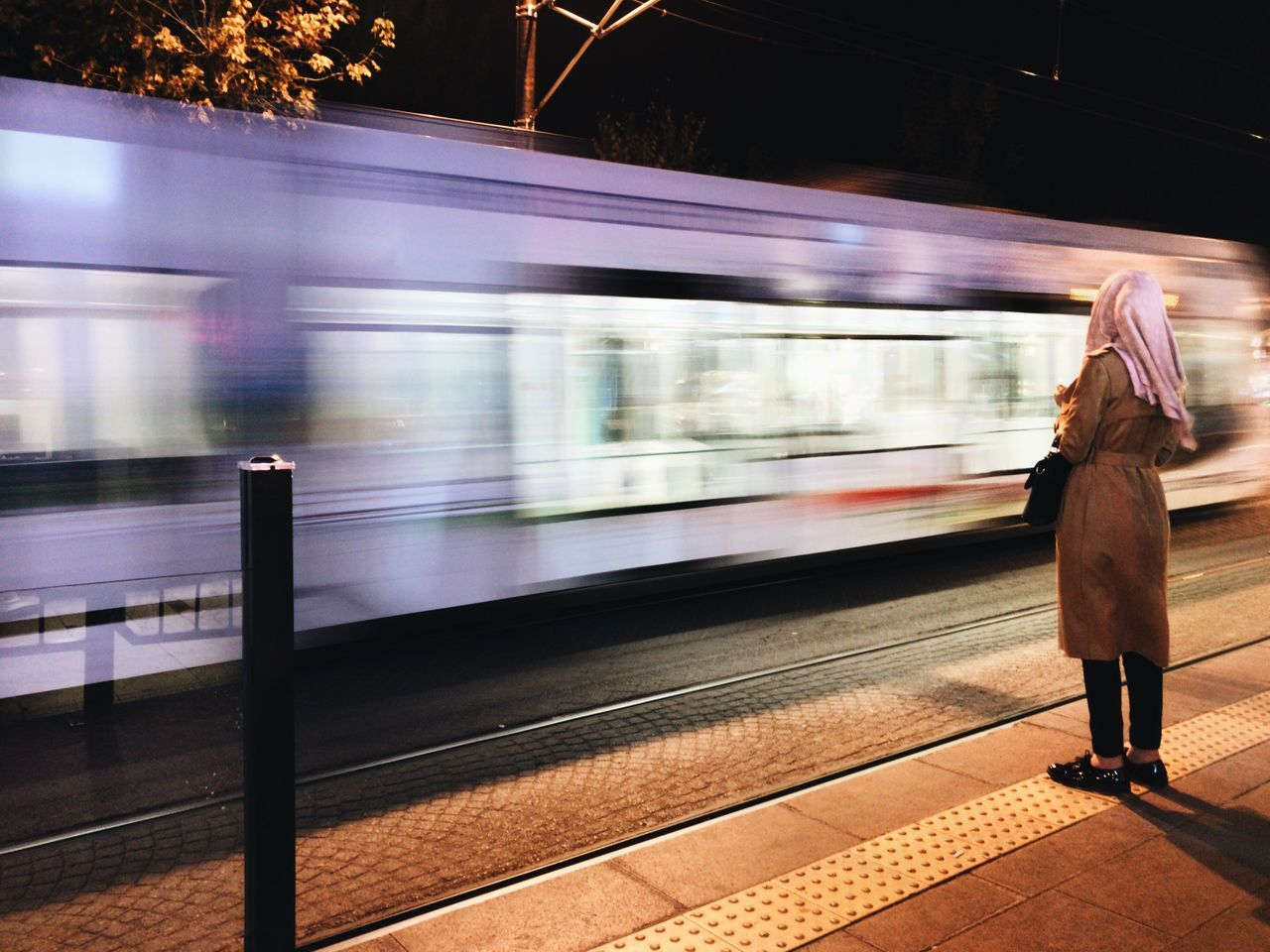 Istanbul night Istanbul Blurred Motion Speed Public Transportation On The Move Mobilephotography