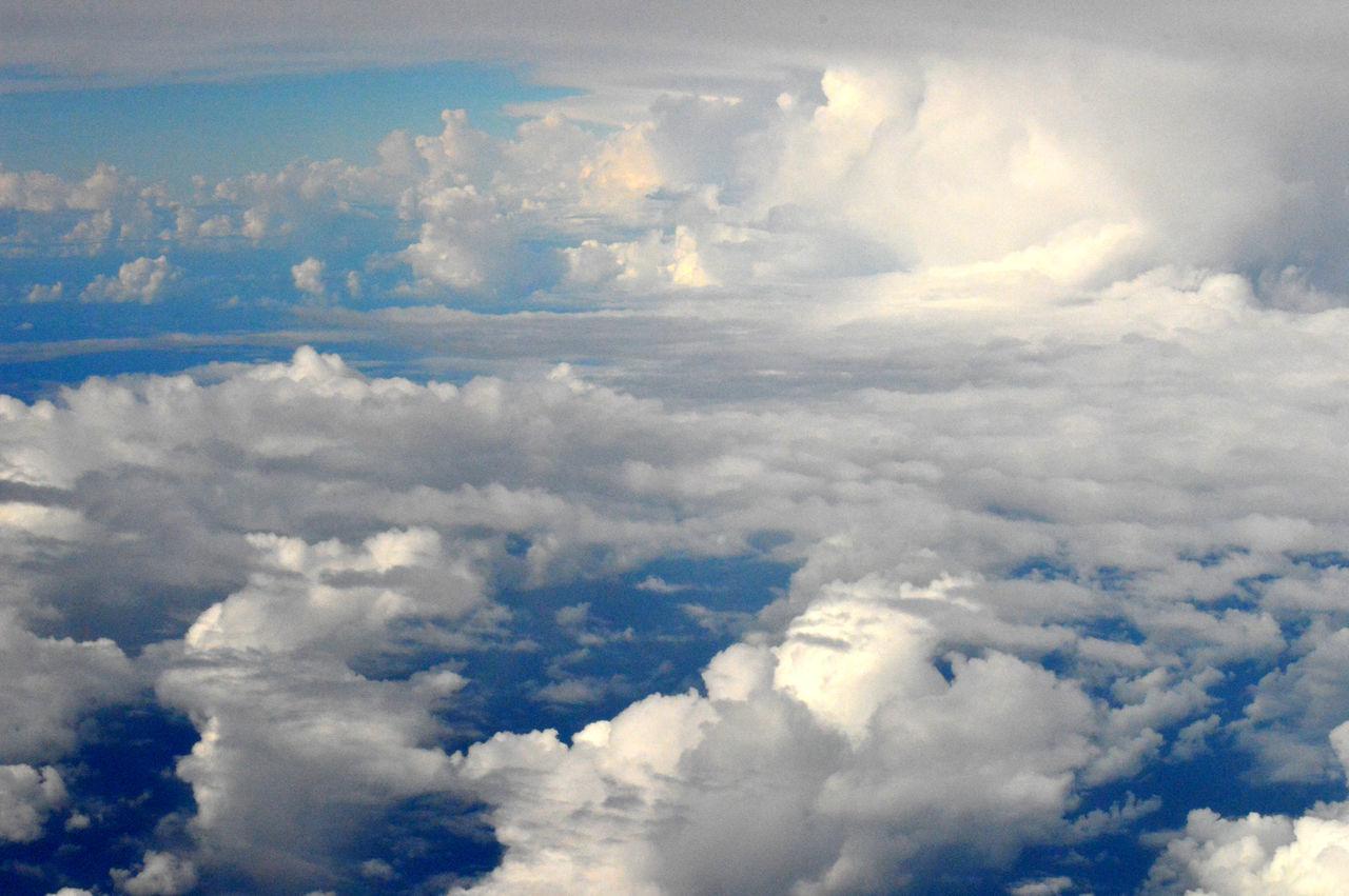 Full Frame Shot Of Clouds