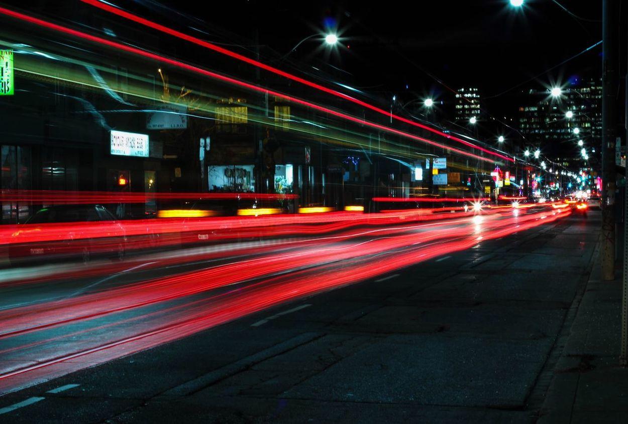 The Changing City Bokeh Night Lights Bokeh Starry Sky Light & Shadow Night Lights Citylights Streetcar Lightpainting Eyeemnightshots All The Neon Lights The Street Photographer - 2016 EyeEm Awards Cities At Night
