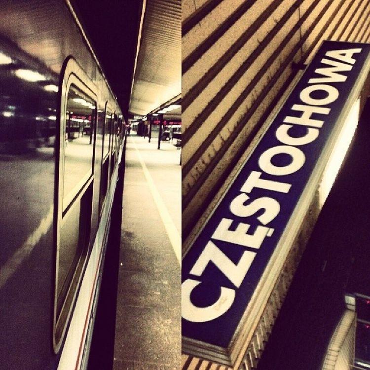 Częstochowa Train Pogoria Gdynia pkp schlafwagen carozza delayed