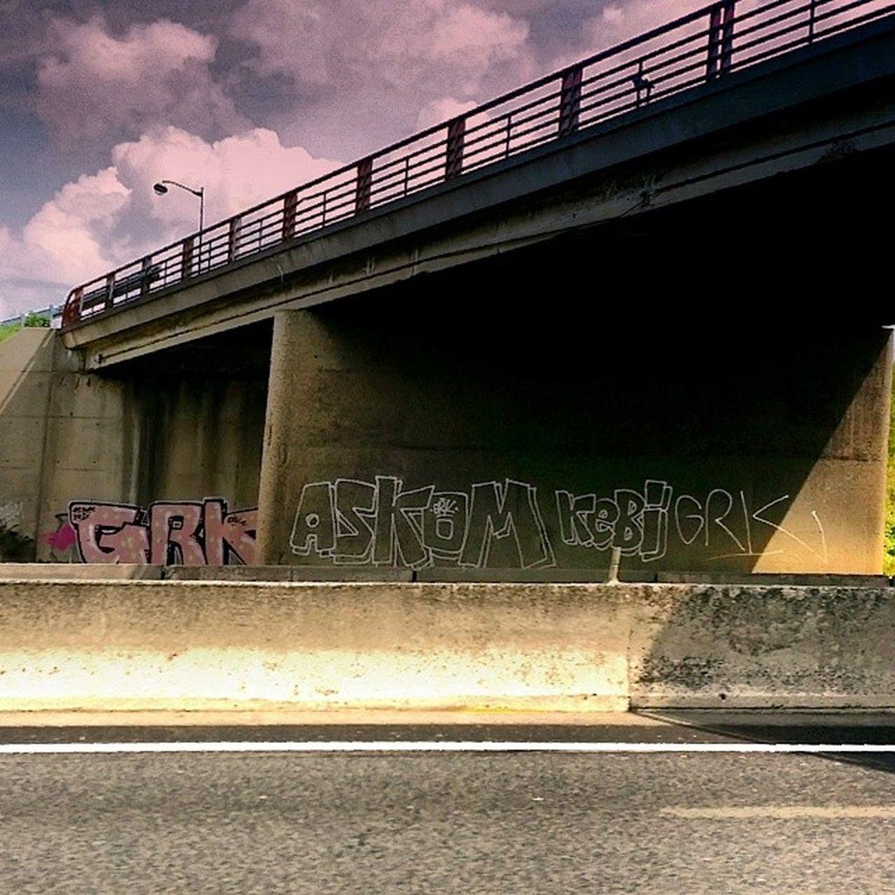 GRK Askom Kebi A6 Streetart Graf Tag