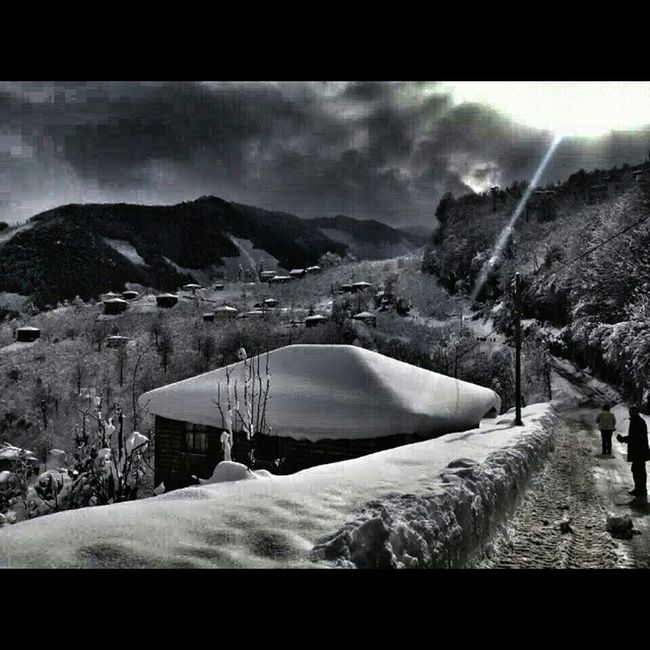 Koyum Giresun Bulancak Köy Kar Snow Kuzköy