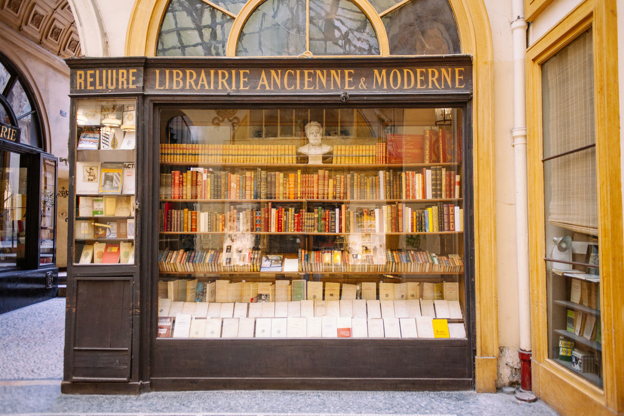Library Architecture Book Bookshelf Education Indoors  Knowledge Library Library Old Paris Store Vintage