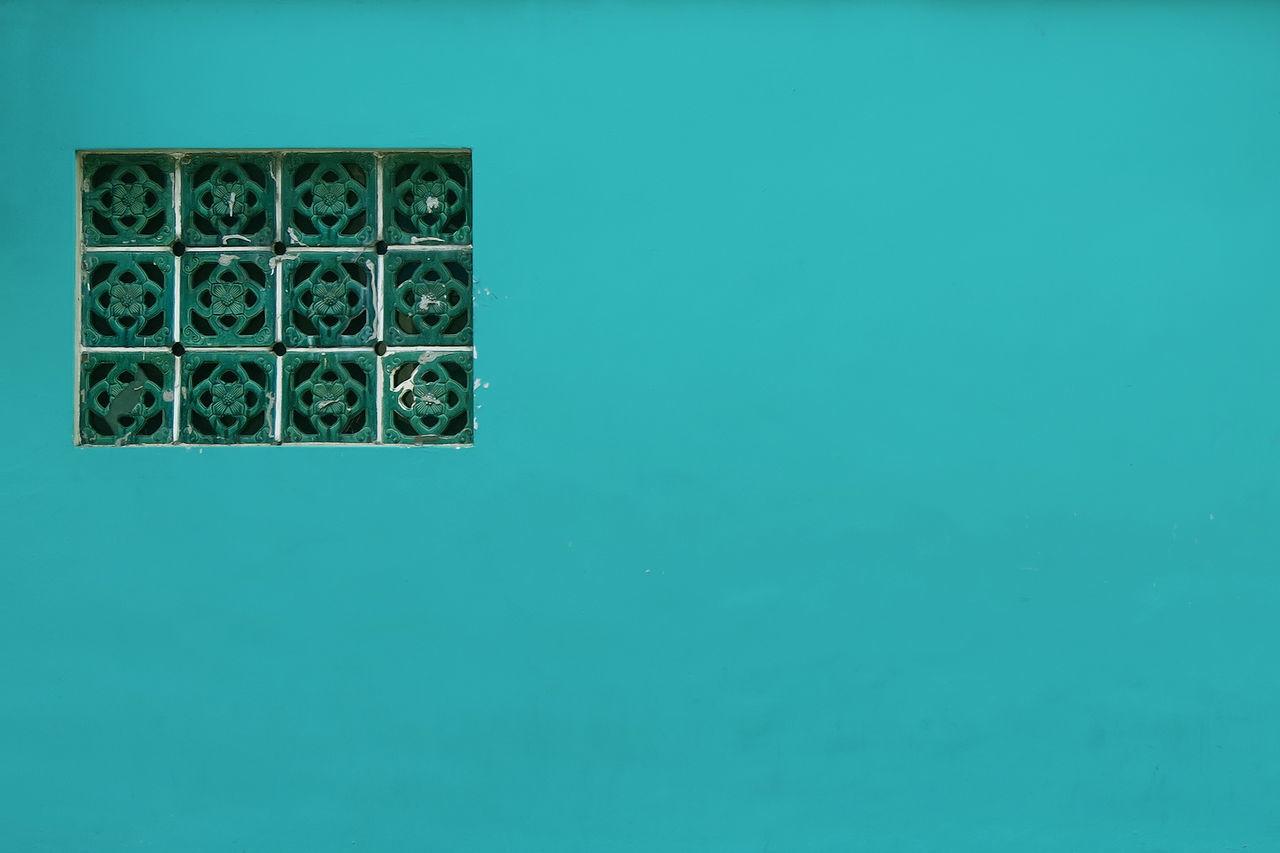 Background Classic Color Frame Green Minimalism Minimalist Architecture Tiffany Blue  Wall Window