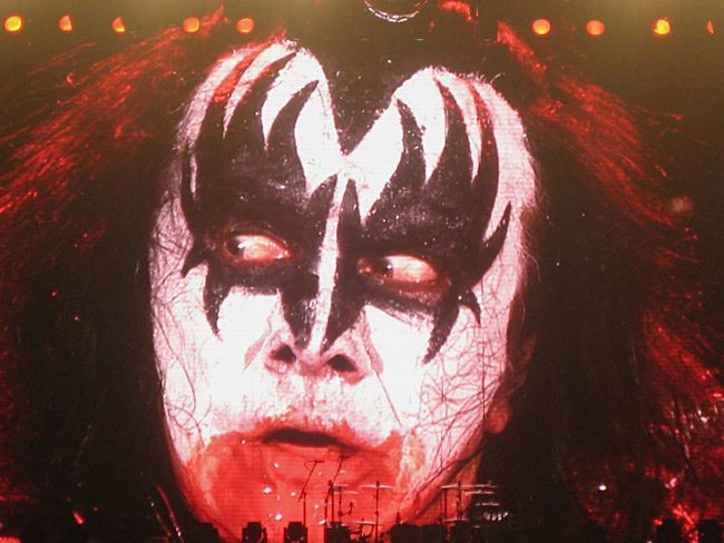 Kiss Concert Rock'n'Roll Party All Night Bands Concert Photography Gene Simmons