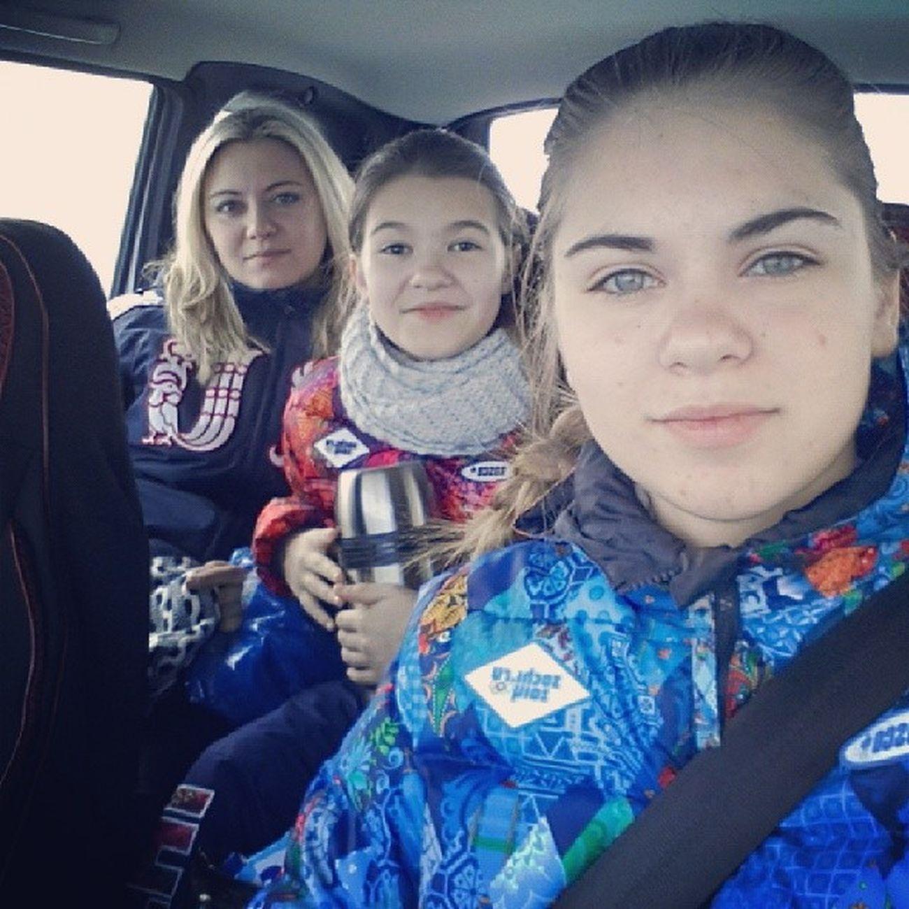 в октябрьский семья октябрьский сноуборд лыжи выходные