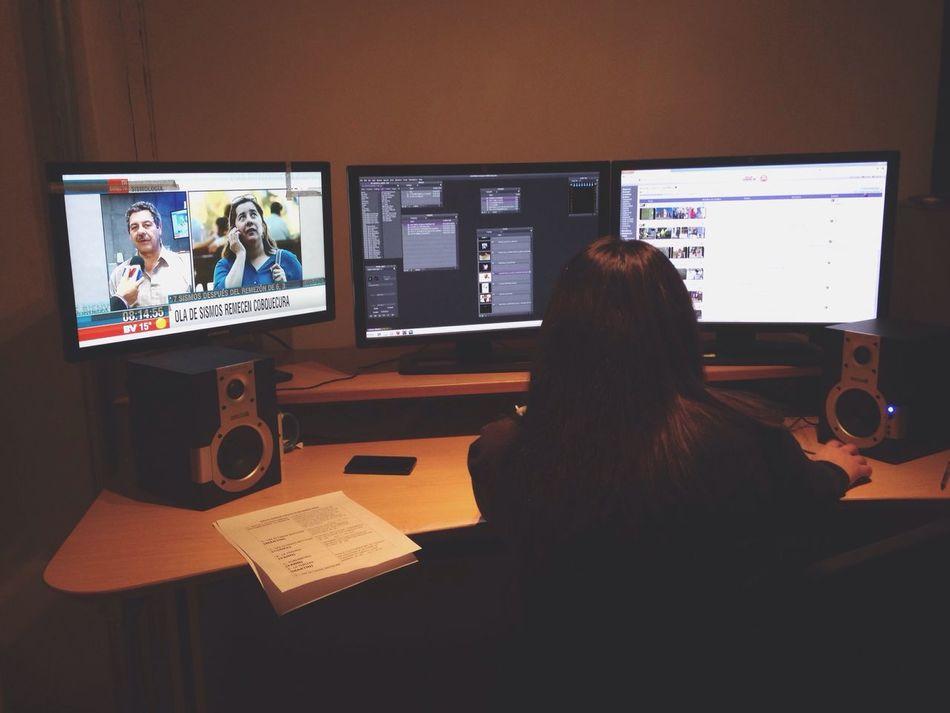 Editando Bienvenidos Canal13 Tv Television