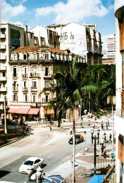 Sao Paulo - Brazil Streetphotography Street Ruas Da Cidade Contrast City Pentax K1000 Analogic Camera 35mm Film No Filter