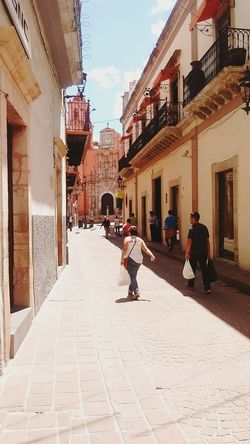 Battle Of The Cities Guanajuato Architecture Street Sky Walking