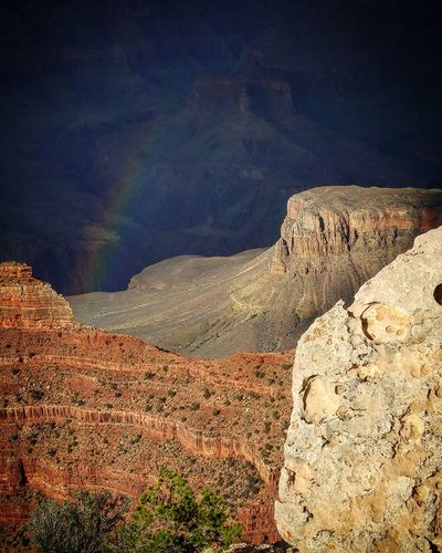 Rainbow in the Canyon Grand Canyon South Rim