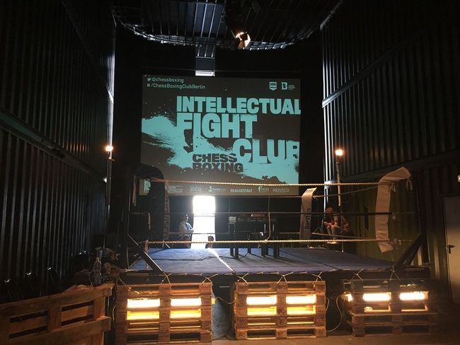 Temptation - Intellectual Fight Club @ChessBoxing Toa15