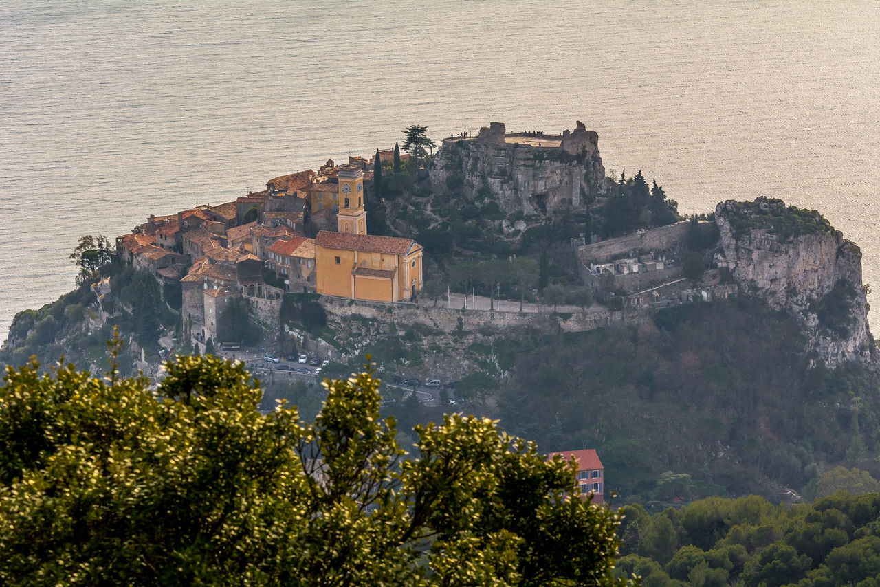 15 Century Architecture Côte D'Azur Day France House Mediterranean  Mountain Nature No People Outdoors Tree Treetop Village Village Medieval Water