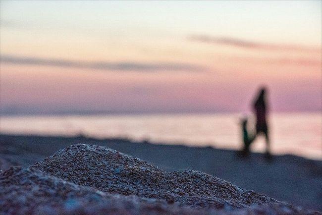 Случайно уехал на море. фотограф Lexinart Russia Закат Sunset Sea EyeEm Best Shots 7day путешествие Traveling на Азовское