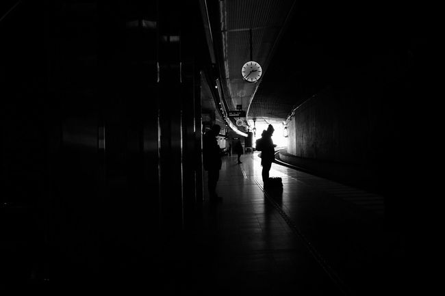 Bw_collection EyeEm Best Shots - Black + White Darkness And Light Streetphoto_bw