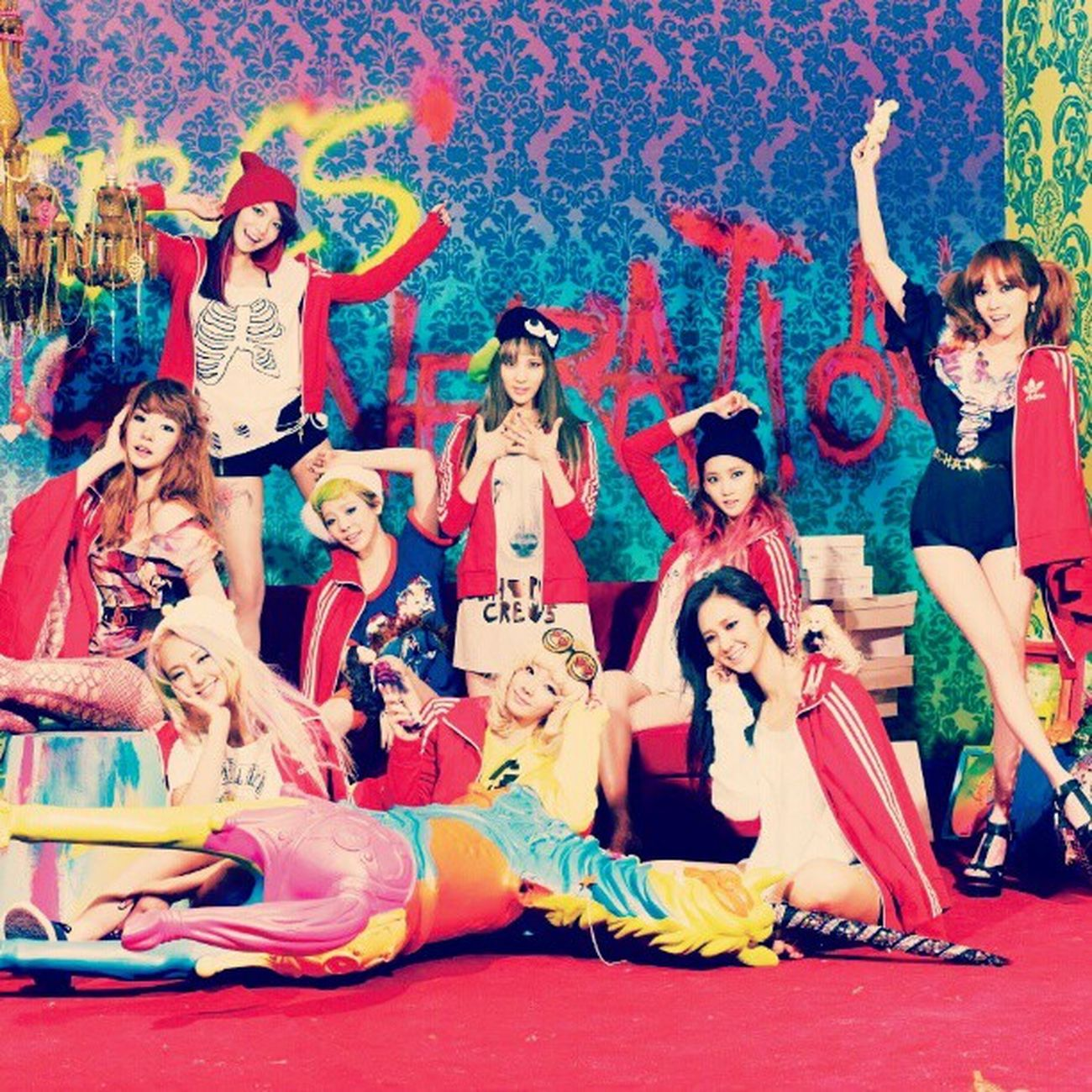 Looking forward to their comeback. ^^ SNSD Soshi Colorful Kpop