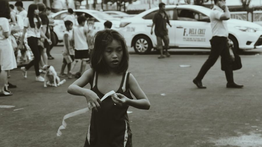 Child Poverty Street Photography Dog Black And White Photography EyeEmNewHere Church Lifestyles Peopple Photography TheReality
