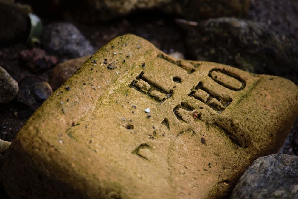 Bricks Softened by the Ocean Stones Seaside Sea Beach Showcase April