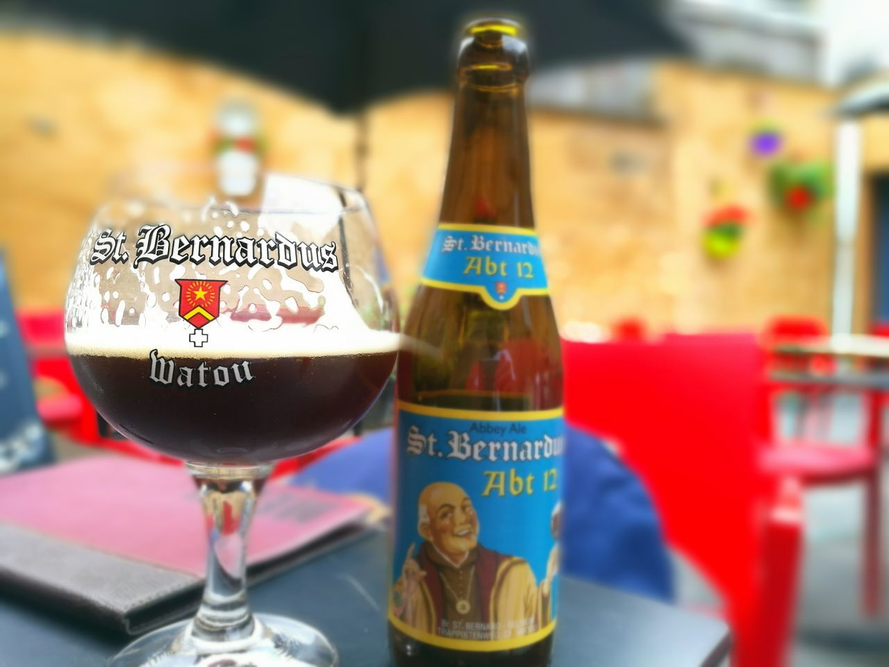Enjoying Life Beer Hanging Out St Bernardus Trappist Beer Trappist Strong Beer Halelujah Close-up No People