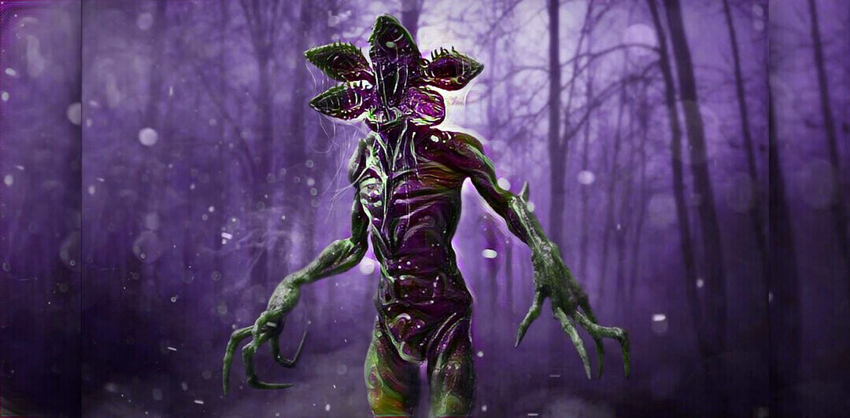 This is the demogorgon from strangerthings Spooky Purple StrangerThings Tradition Celebration Adult Headdress Night One Person People Outdoors Headwear One Man Only Adults Only Only Men First Eyeem Photo