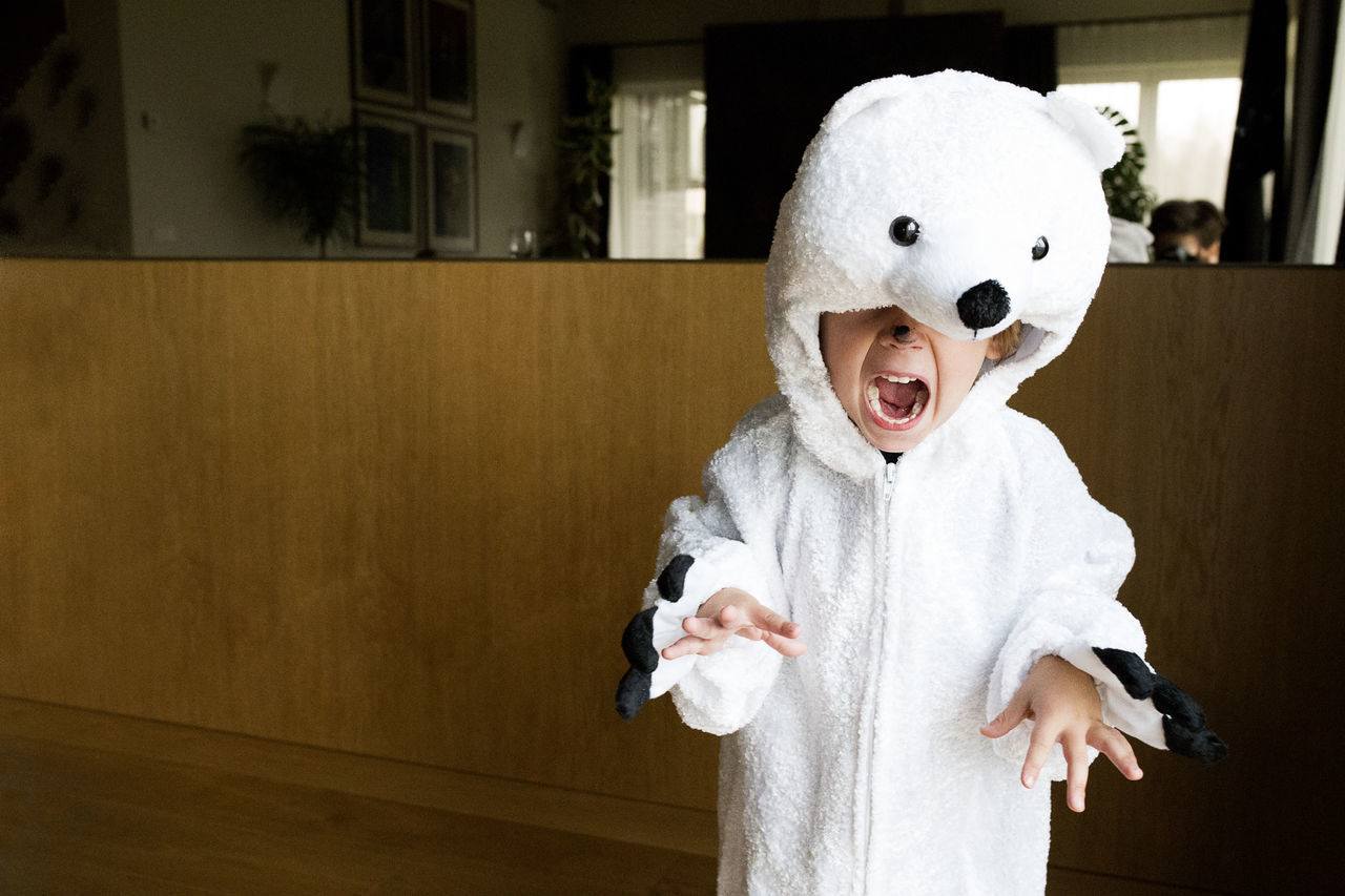 Beautiful stock photos of baer, 2-3 Years, Animal Representation, Boys, Childhood
