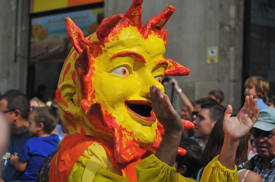 Spain ✈️🇪🇸 Barcelona Treveling La Merce