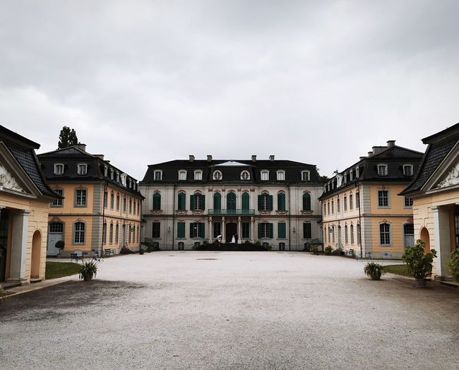 Schloss Wilhelmstal Kassel Walking Around At The Park Castle Historical Rococo Historical Building Schloss