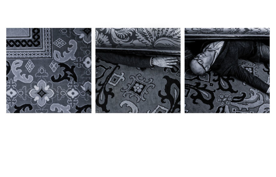Whodunit? Black And White Photography Blackandwhite Photography Carpet Close-up Day Fine Art Photography Indoors  Monochrome Photography Murder Scenes Mystery Person Personal Perspective Three Triptych