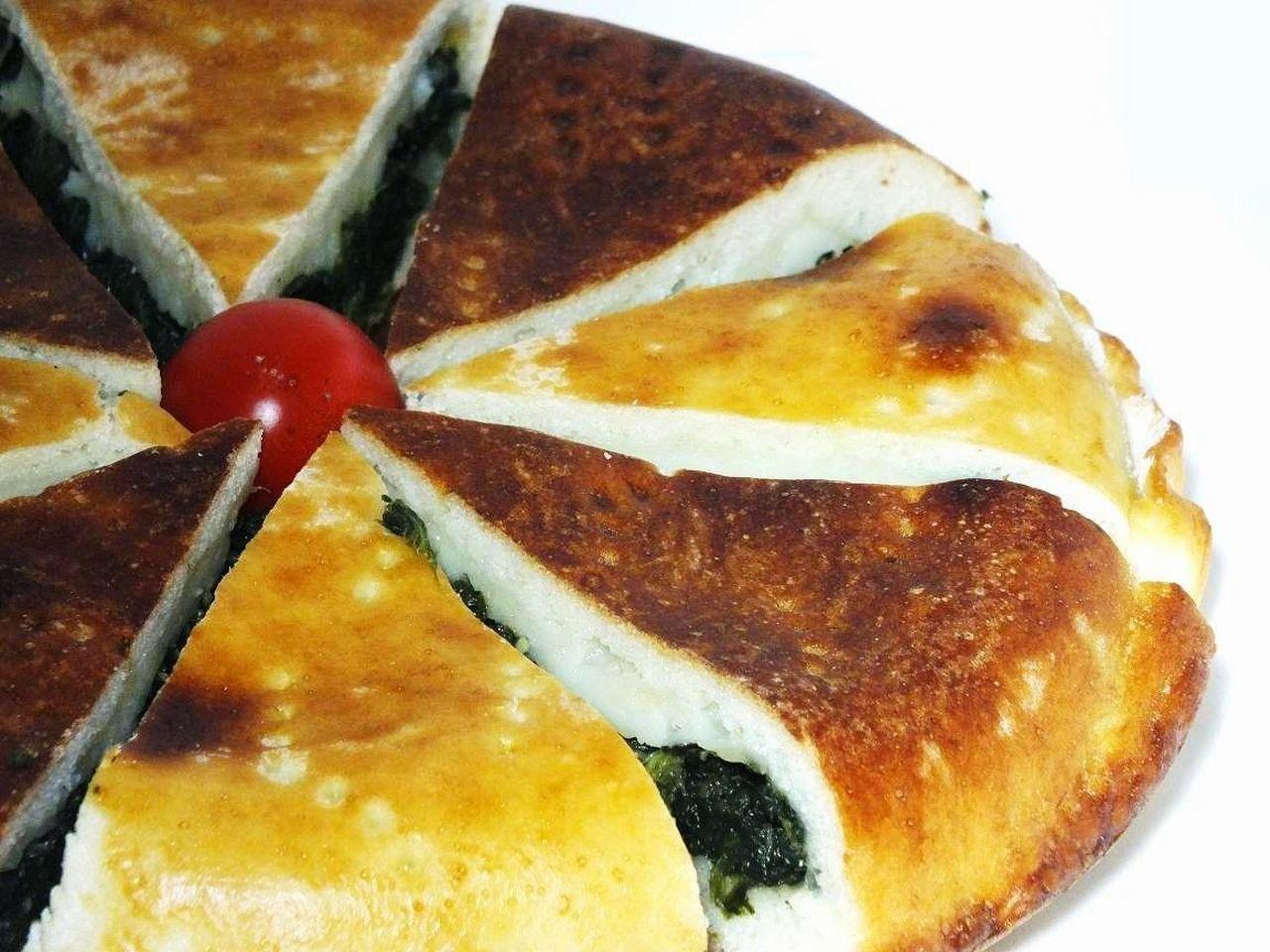 Pizzaripiena Spinaciemozzarella Italian Food Pizza🍕 Food Homemade Buonappetito