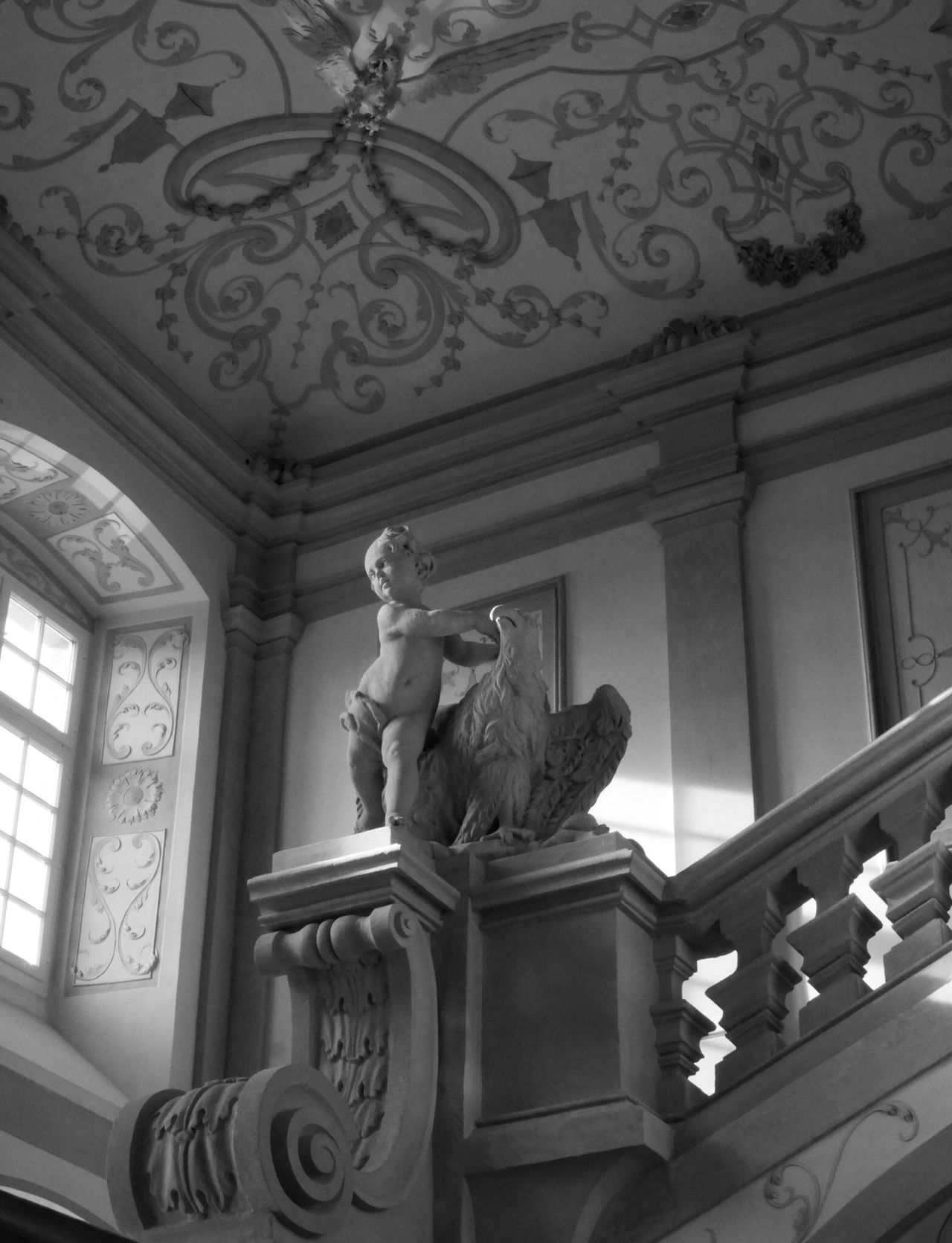 Pictures of Melk Abbey Architecture Architecture_bw Art Barock Blackandwhite Church Historical Building Medieval Monochrome Museum Staircase Stairs