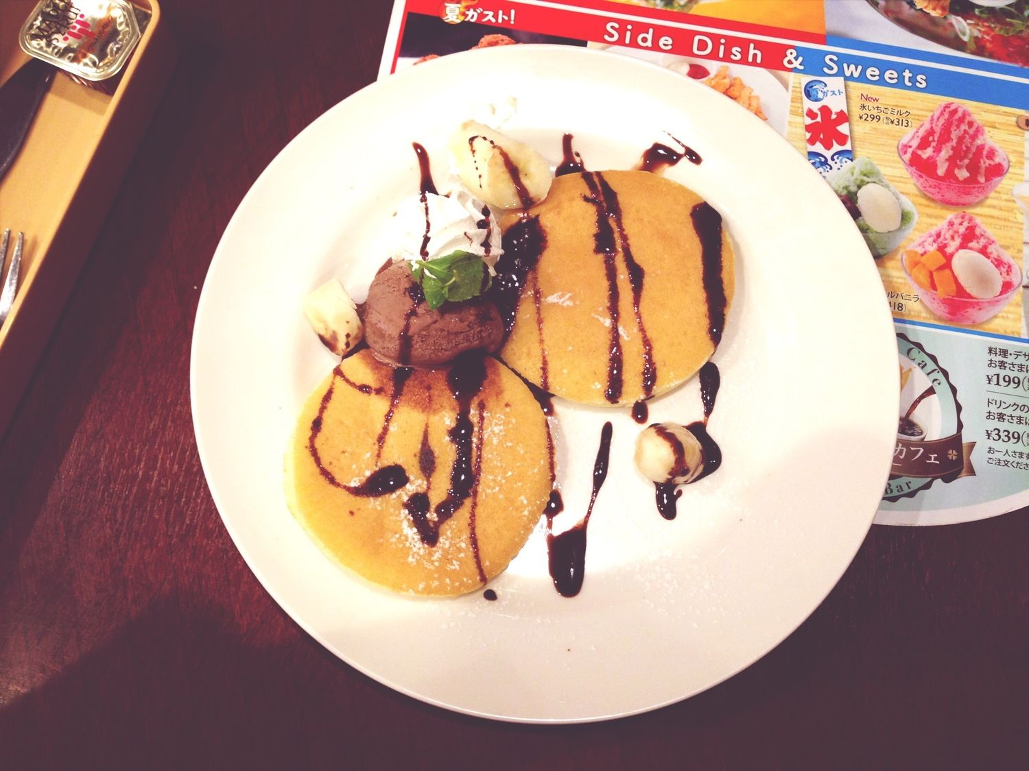 Pancakes Ice Cream