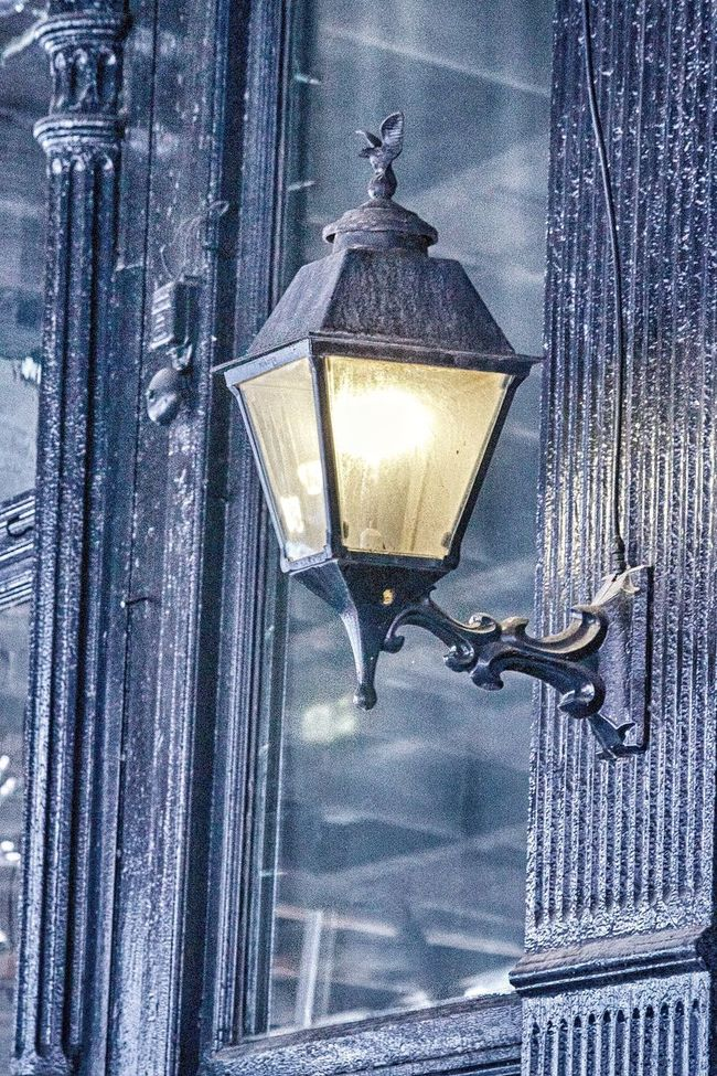 Vintage in real life! Lantern Electric Light No People Vintage Historical Building Architecture