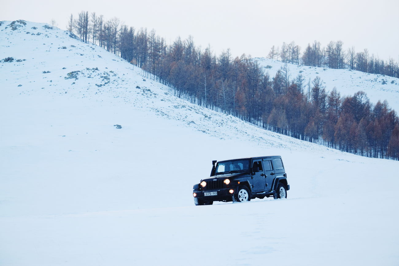 Snow Cold Temperature Winter Nature Outdoors Mongolia Wrangler