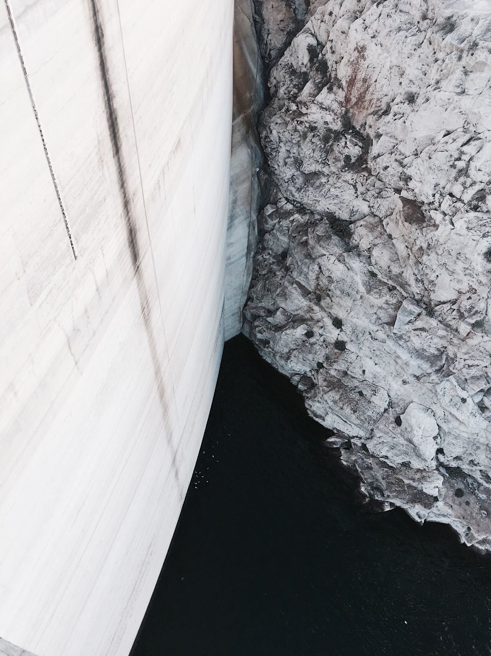 no people, rock - object, day, dam, water, nature, outdoors, built structure, architecture