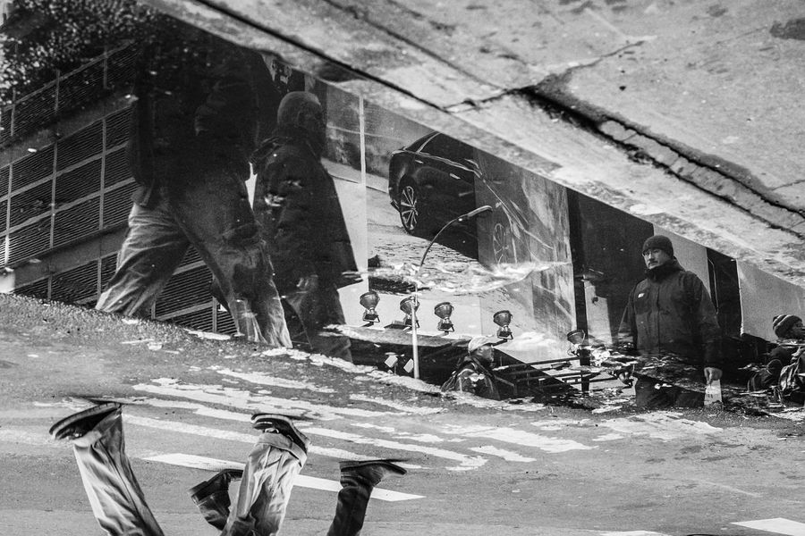 Times Square, NYC | 2015 Street Photography Streetphotography Street Portrait Streetphoto_bw Reflection Streetphotography_bw Street Life Street Photo I Heart New York Times Square
