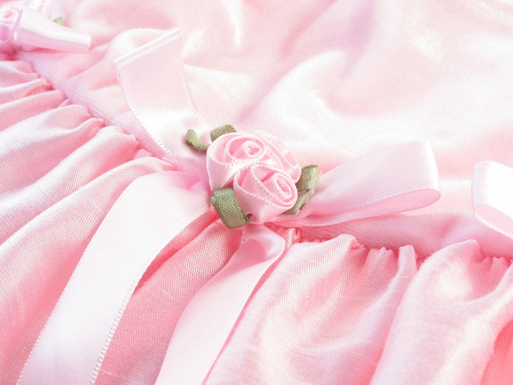 Pretty in pink Baby Dress Babygirl Baby Clothing Pink Color Close-up No People Flower Costumes Pink Pink Rose Pink Blossoms Dress Dressed Up Dresses Pretty In Pink Pretty Girl Satin Clothing