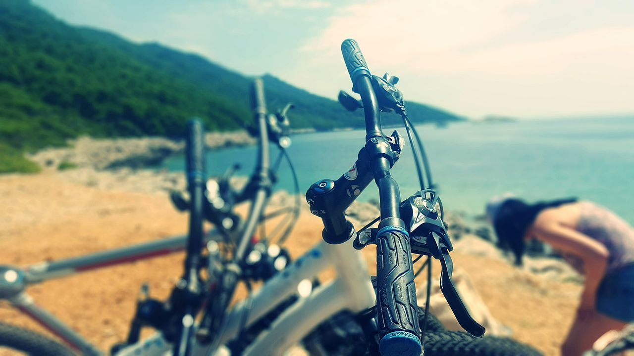 Mljet National Park Nature_perfection Sky Seaside Sea Beauty In Nature Landscape Nature Sea View Beach Outdoors Sand Peaceful Naturelovers Bike Biketour Bicycle