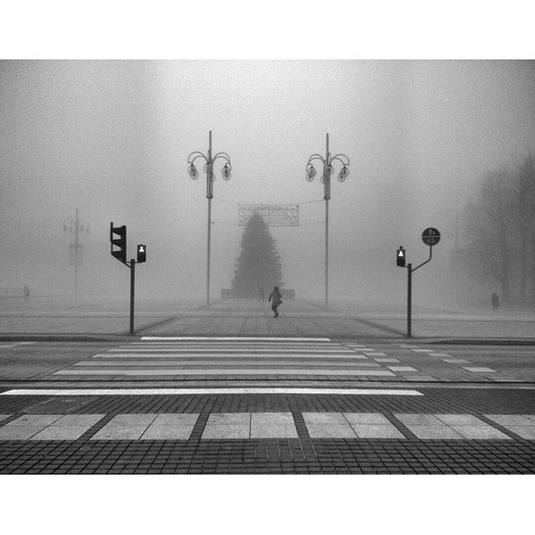 Myowncity Myplace Czwa December Foggy Foggy Day Photoshoot Mobilephotography Kadrowidzenie Poland Częstochowa