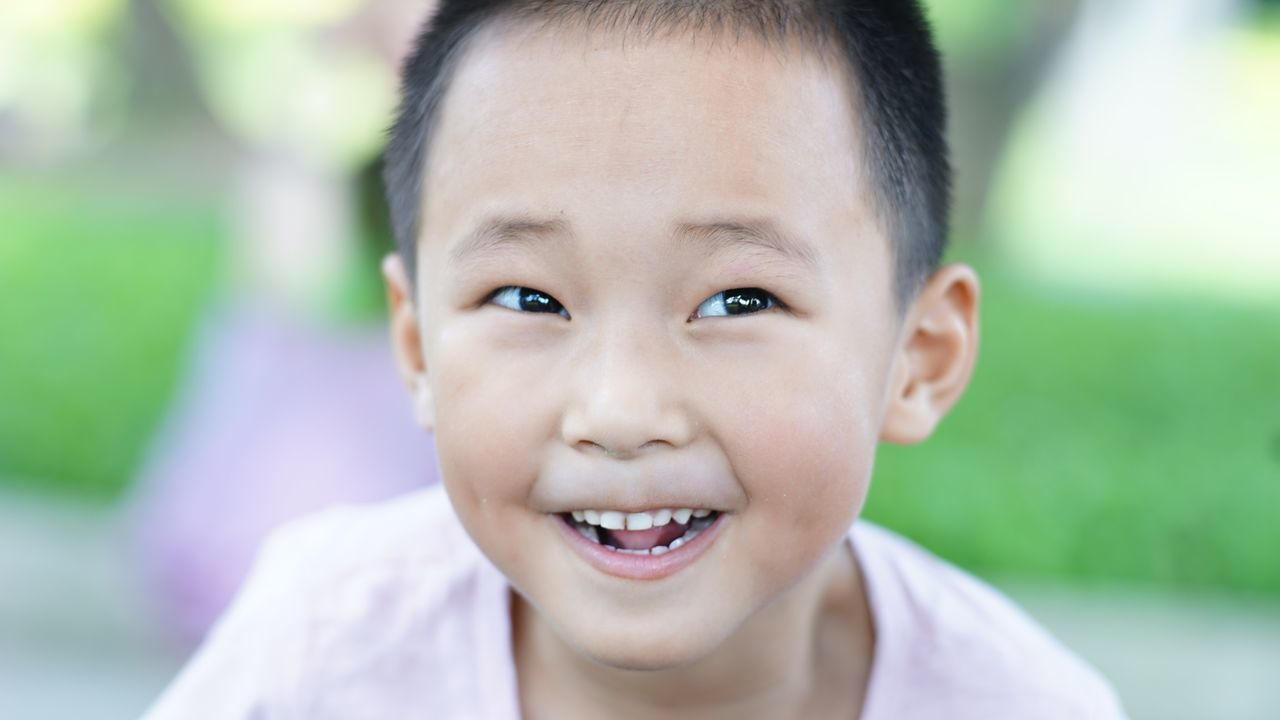 Looking At Camera Childhood Portrait Smiling Boys Focus On Foreground One Person Elementary Age Real People Headshot Human Face Child Black Hair Cheerful Outdoors Cute Day Lifestyles Close-up