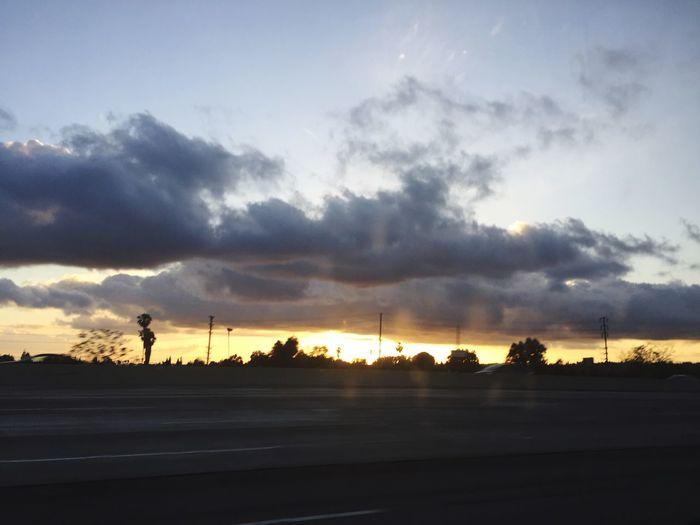 Dark sky / sunset First Eyeem Photo