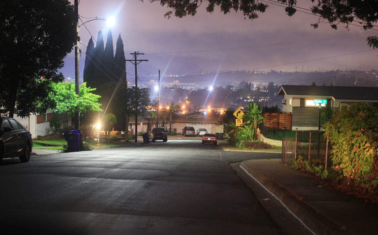 Combining and/or stitching 2 or more photos to create a panorama City Composition Illuminated My Streets At Night Night Photography Qualcomm Stadium Scenic Drive Stitching Street Lights Street Photography Streets At Night Urban Team Awesome's Late Night Adventures Through My Windshield