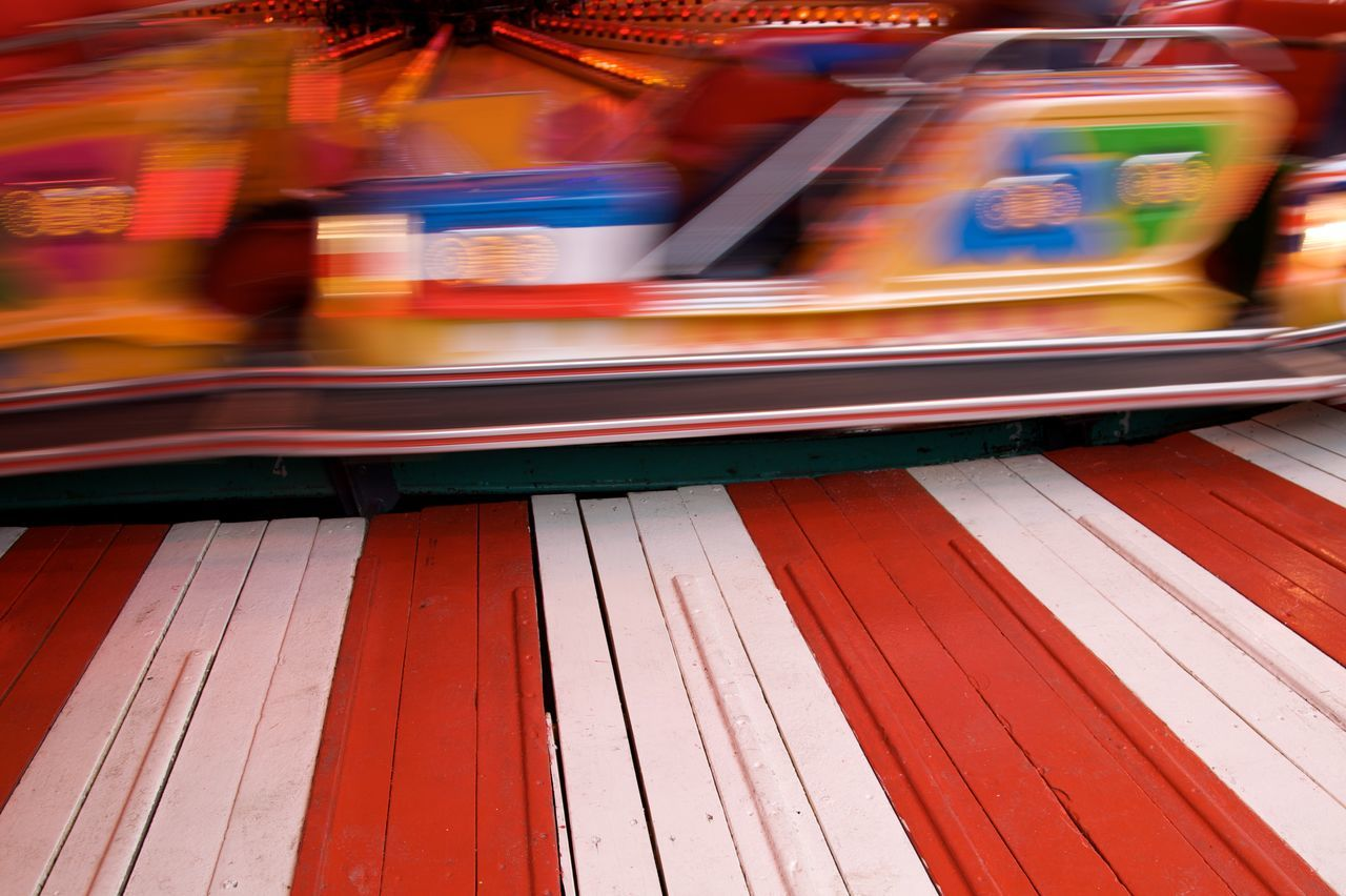 Abstract Abstractions In Colors Blurred Motion Carousel Color Explosion Colorful Colorfull Colours Funfair Having Fun In Motion Motion Multicolors  Red Speed