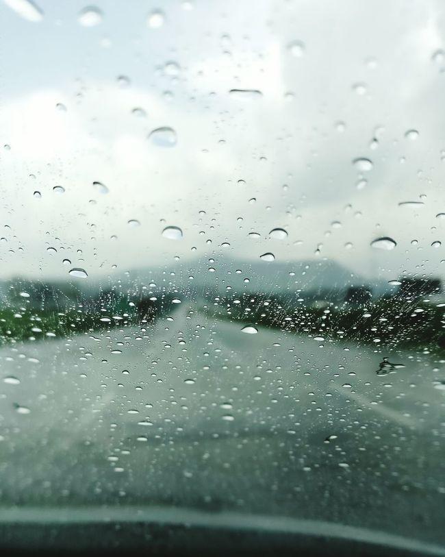 Raindrops Lonavala Rain Awesome_view