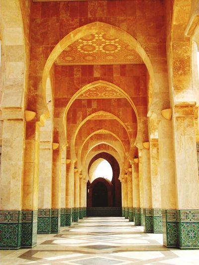 Hassan II Mosque, Casablanca Morocco.