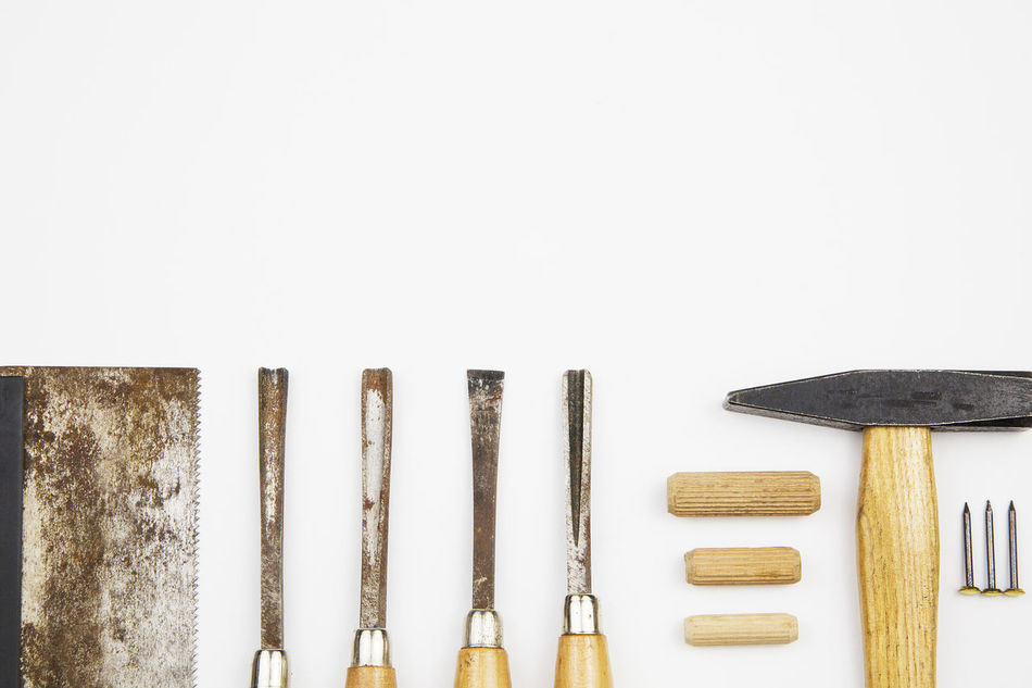 Beautiful stock photos of nail,  Arrangement,  Carpentry,  Chisel,  Copy Space