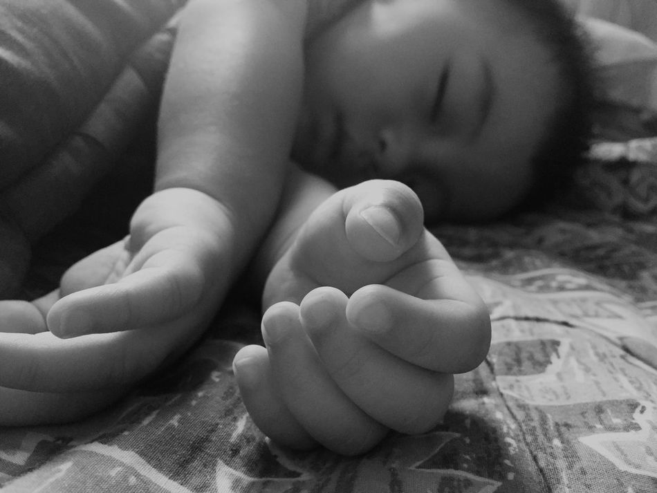 Eye4photography  my nephew sleeping EyeEm Best Shots Monochrome
