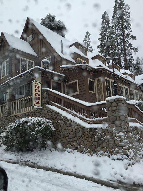 Showcase March Snow Winter Cold Lake Arrowhead