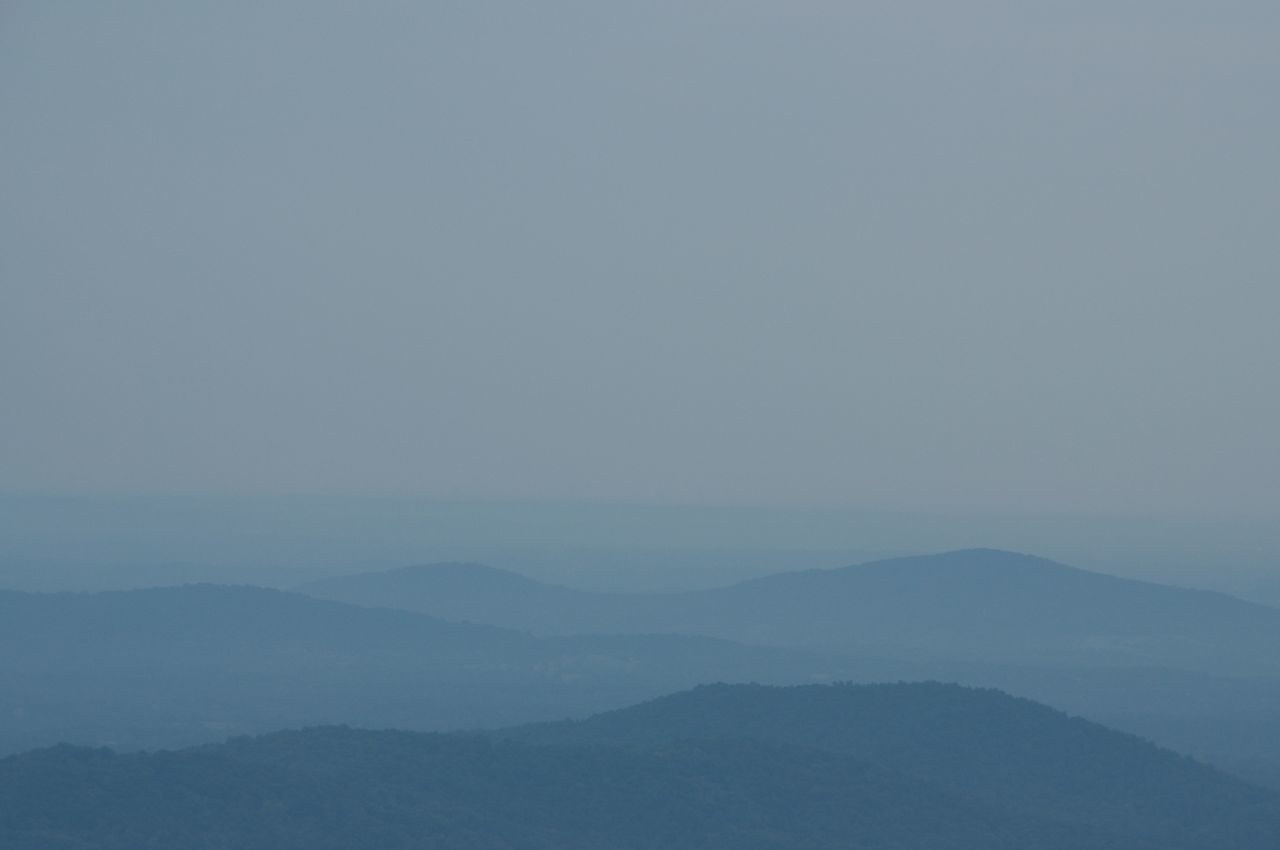 Abstract Nature Beauty In Nature Blue Mountains Day Hazy  Landscape Mountain Mountain Range Nature No People Outdoors Scenics Shenandoah National Park Sky Tranquil Scene Tranquility Travel Destinations